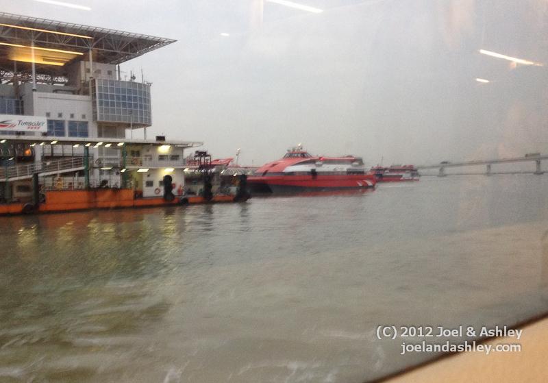 Turbojet & Ferry Terminal in Macau
