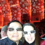 Rockettes 3D Glasses
