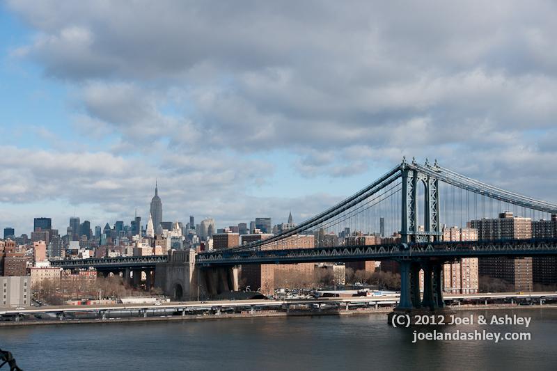 Brooklyn Bridge Towards Manhattan