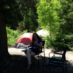 Lunchtime at camp
