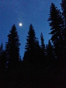 Last night at camp